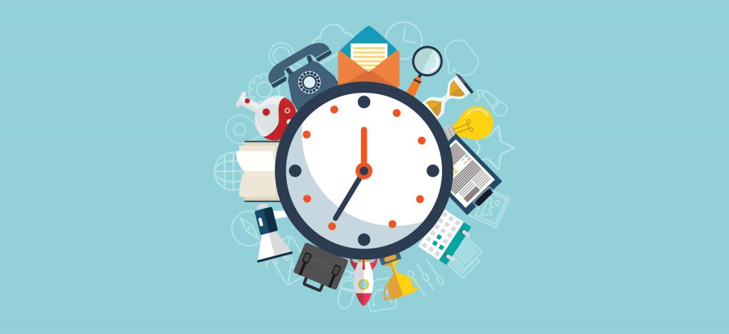 قوانین مدیریت زمان